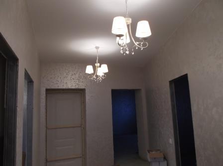 люстры в коридоре, 2 этаж