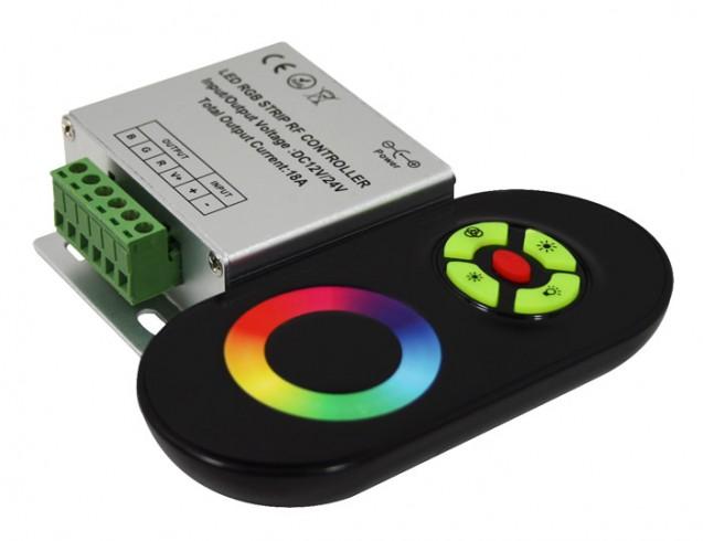Контроллер RGB ленты подключение