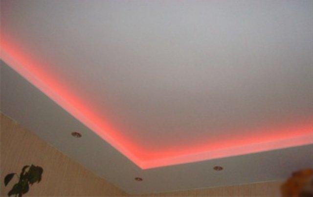 Потолок с подсветкой2