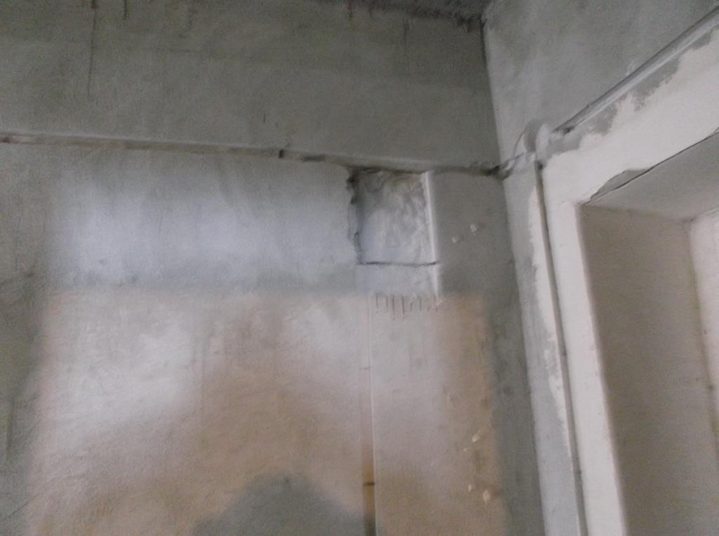 Штроба под электрощитком