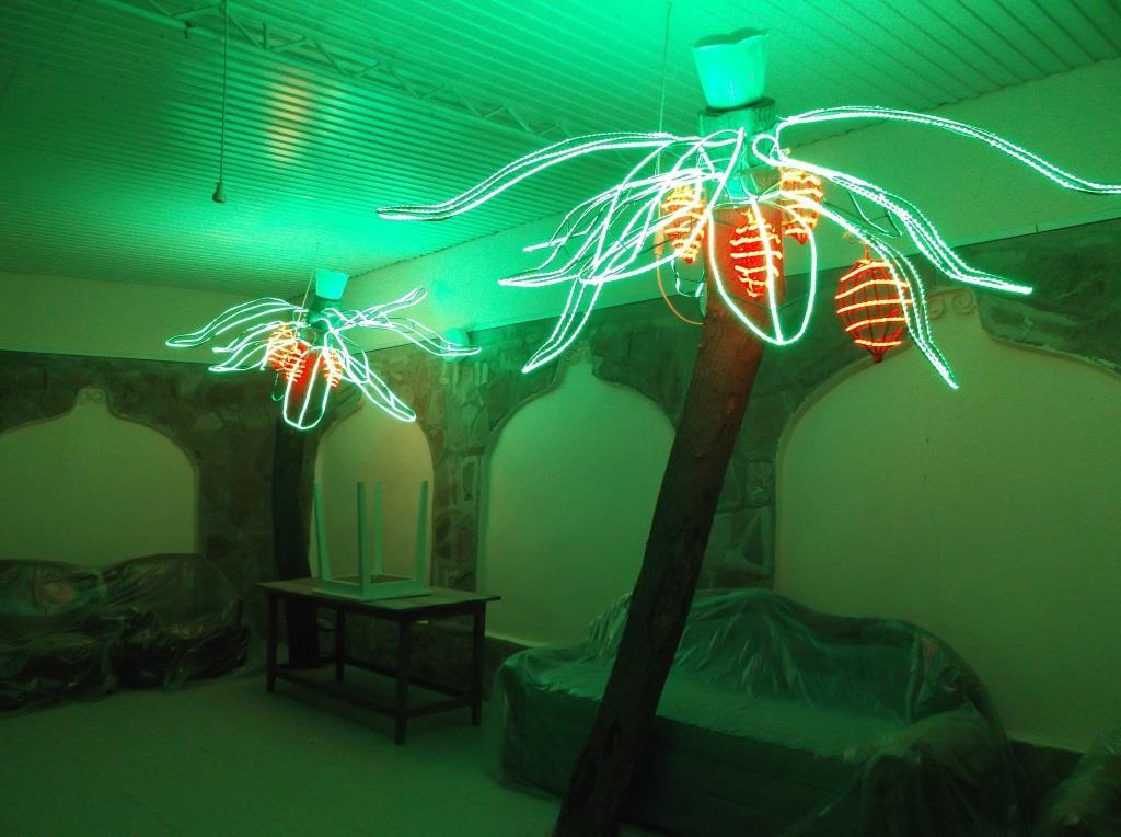 Электрическая пальма