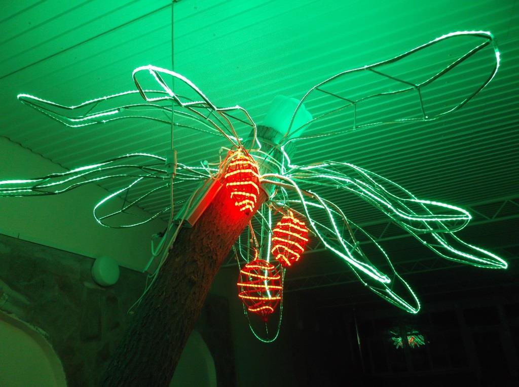 Электрическая пальма.