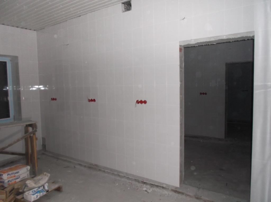 Стены готовы к установке розеток