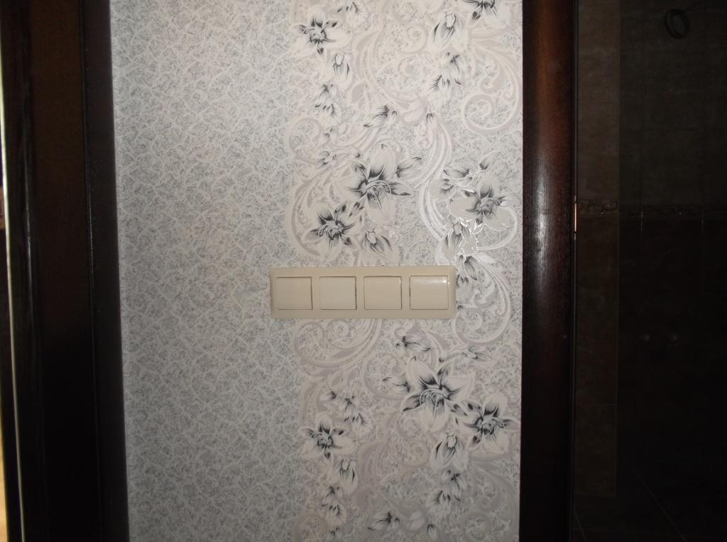 Выключатель ванной, уборной, вытяжки, проходной коридора