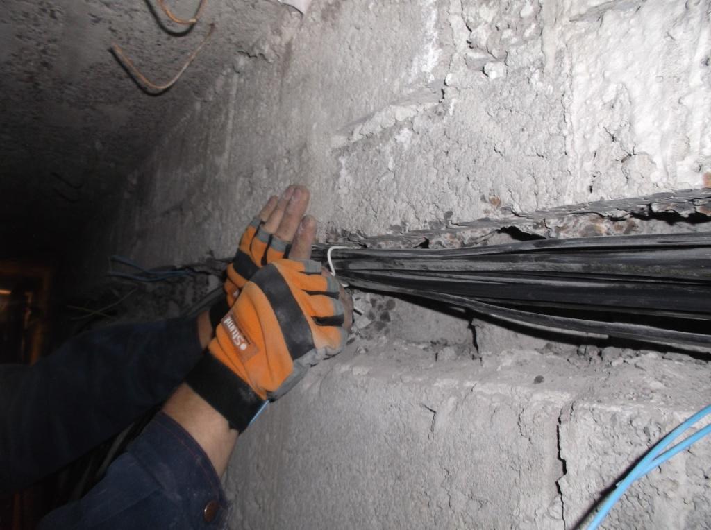 Укладка провода 6