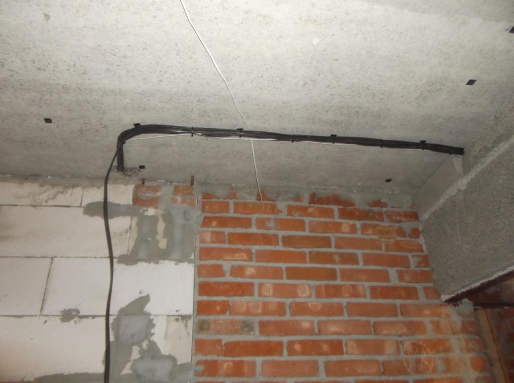 Укладка провода жгут 1