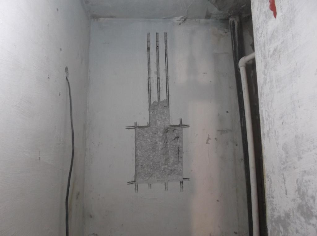 Монтаж внутреннего щитка 9