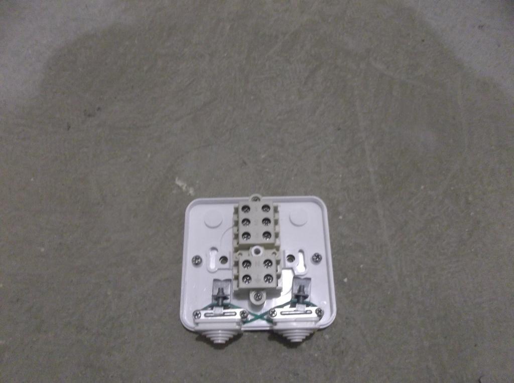 Распредкоробка для электроплиты 3 Контактная группа