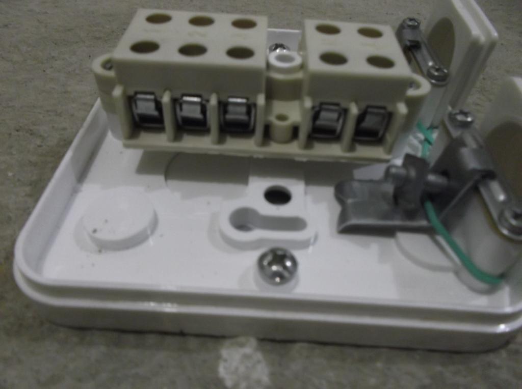 Распредкоробка для электроплиты 4 Контактная группа 2