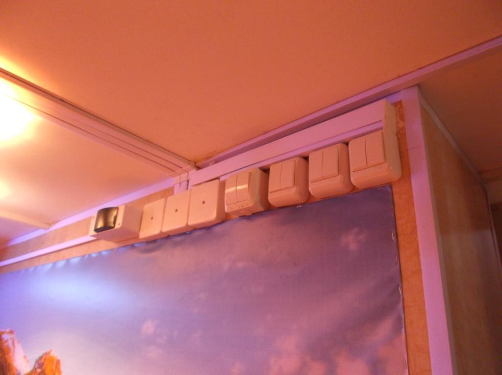 Фотарий - распредкоробки и выключатели
