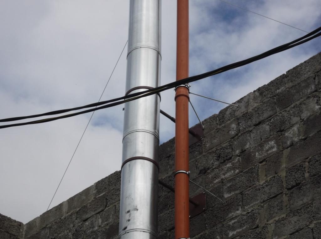 Монтаж вентиляции упорные шпильки