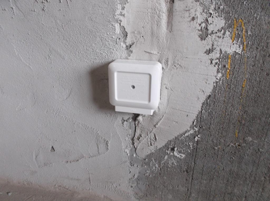 Распредкоробка для электроплиты или духового шкафа