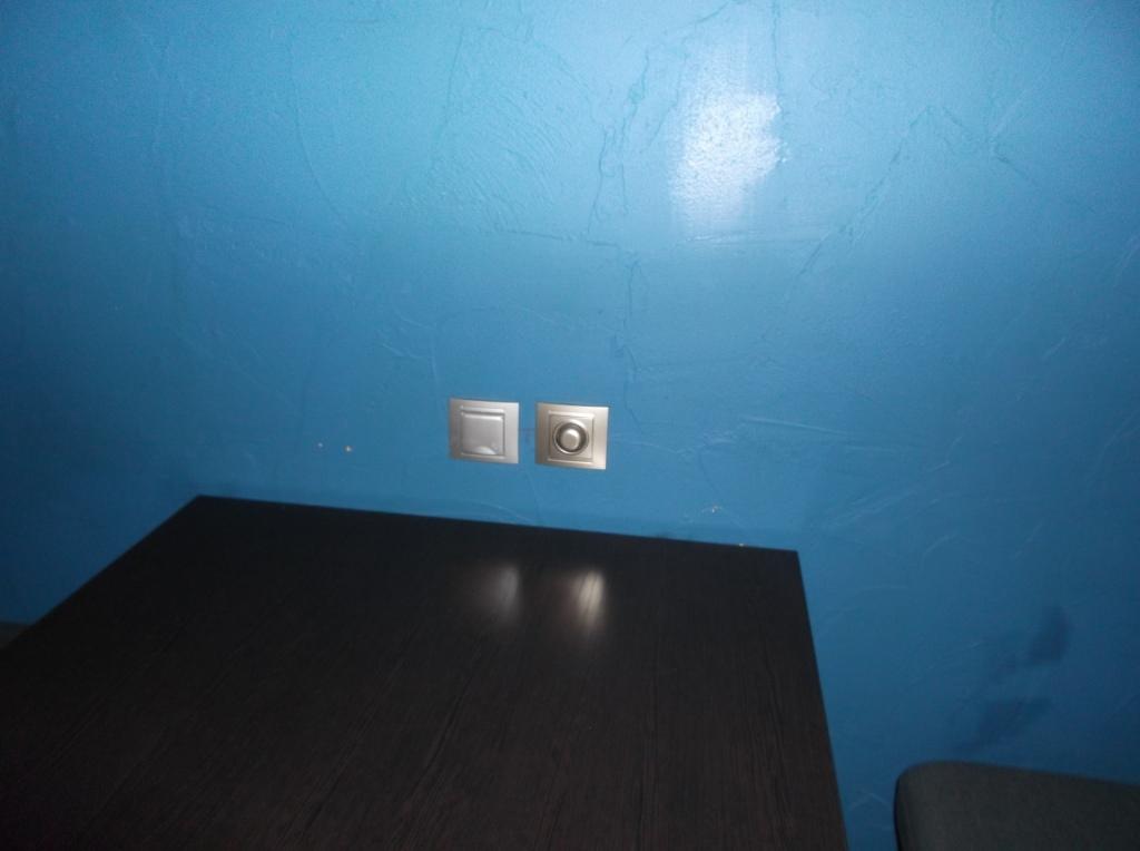 Монтаж освещения в Launge зале 2