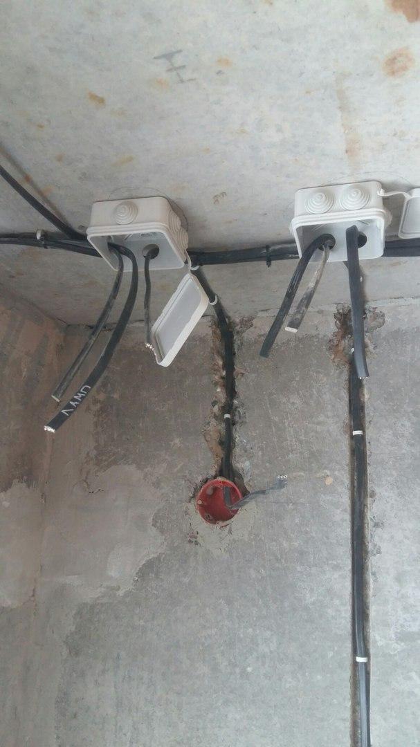 Услуги электрика в Оренбурге замена электропроводки 13