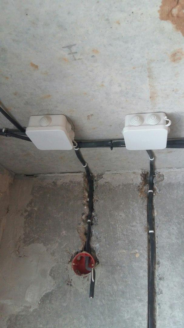 Услуги электрика в Оренбурге замена электропроводки 16