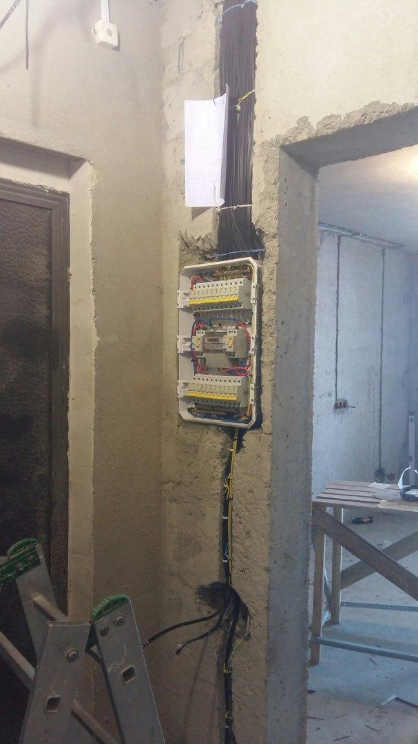 Услуги электрика в Оренбурге замена электропроводки 18