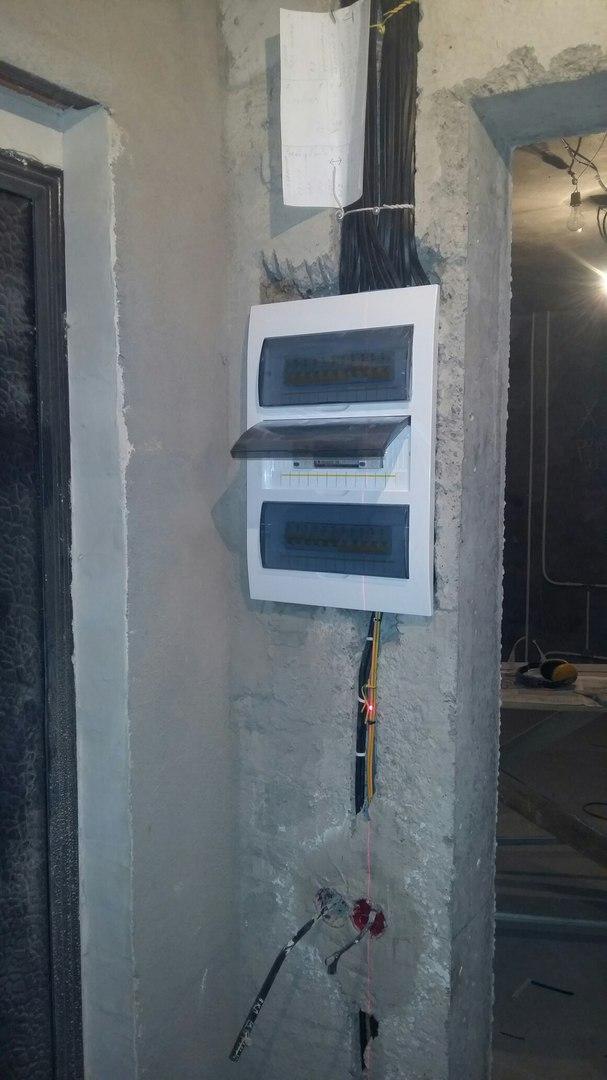 Услуги электрика в Оренбурге замена электропроводки 19