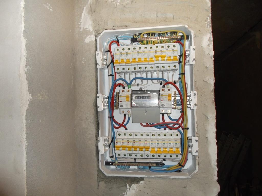 Услуги электрика в Оренбурге замена электропроводки 26