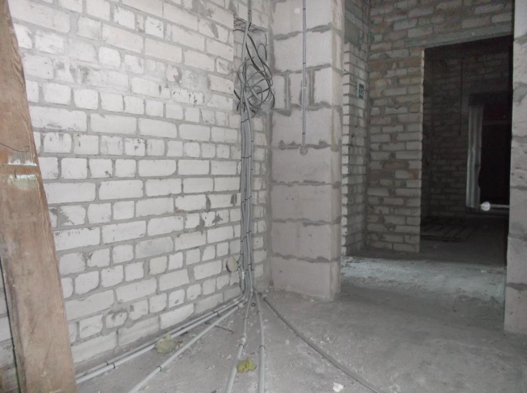 Электропроводка от застройщика 10