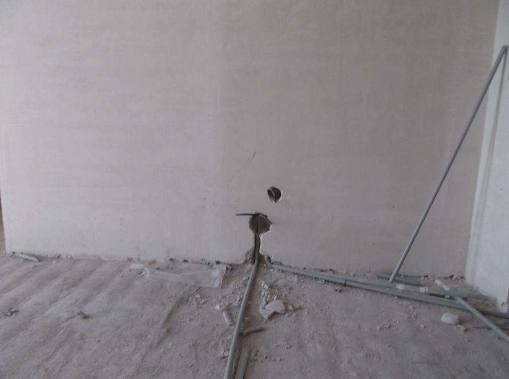 Электропроводка от застройщика 20