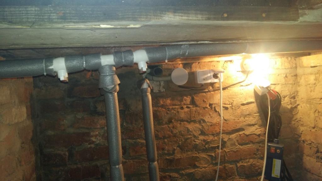 Монтаж водопровода подключение насоса