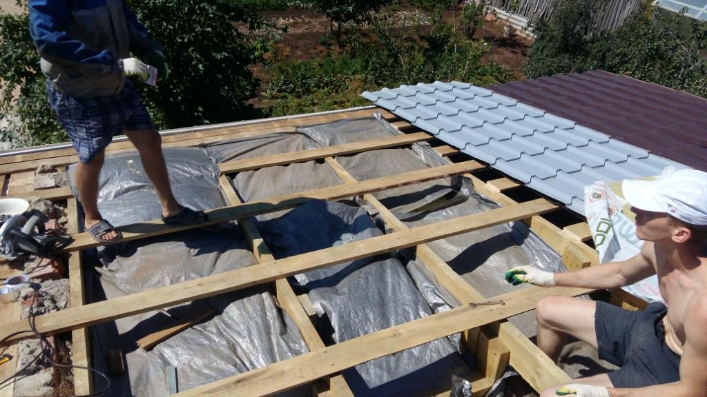 Утепление крыши 1